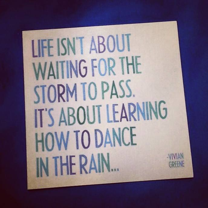 Are You Dancing in the Rain?